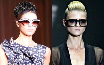 Модные солнцезащитные очки 2012 года