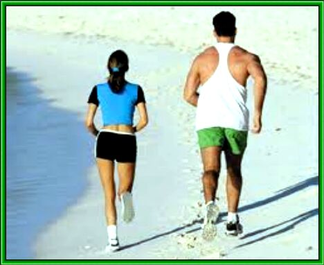польза бега