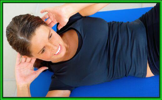 упражнения не пресс менее эффективны,чем аэробные