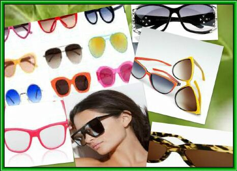 модные аксессуары -солнцезащитные очки