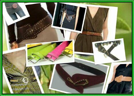 модные аксессуары-женские ремни