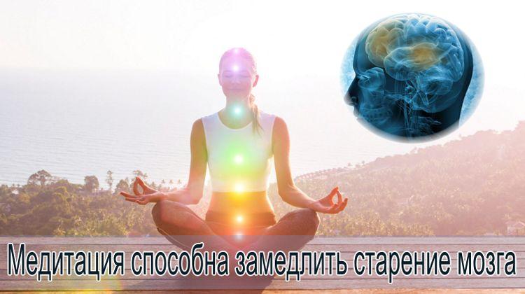 медитация против старения мозга